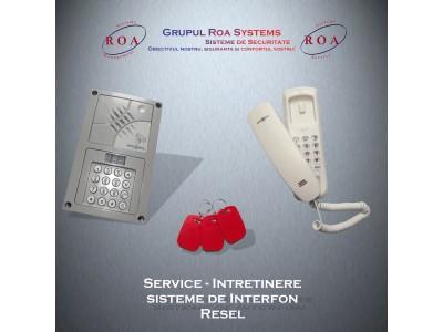 Service / Intretinere interfon Resel