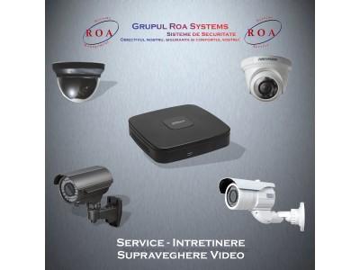 Service - Intretinere supraveghere video