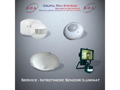 Service - Intretinere senzori de iluminat